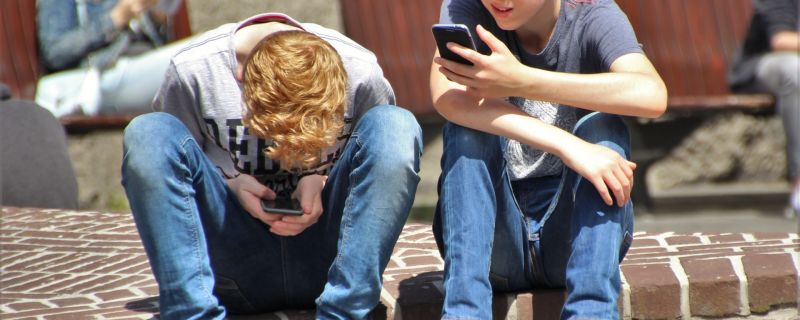 Kids with Cell Phones