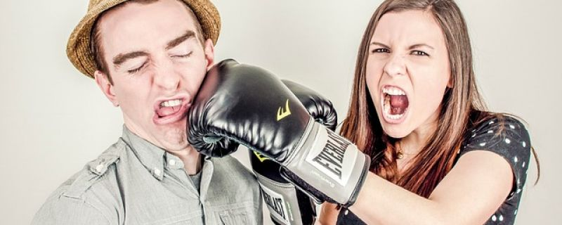 argument-boxing glove